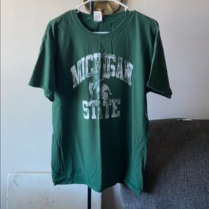 Michigan State t-shirt.